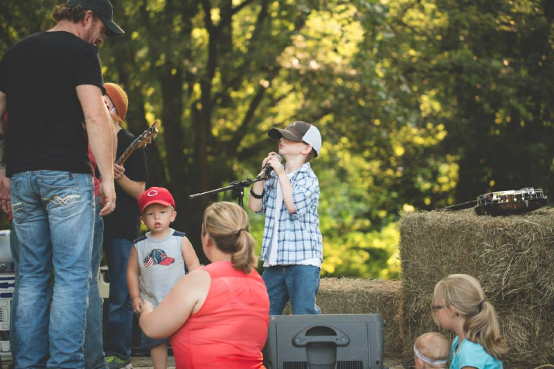 Middle of a Country Night Video Shoot 5